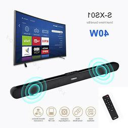 40W Home 3D Surround TV Sound Bar System Wireless Soundbar w