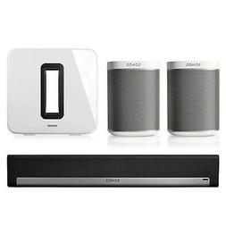 Sonos 5.1 Home Theater System with PLAY:1 , PLAYBAR, and SUB
