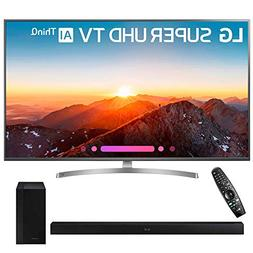 "LG 55SK8000PUA 55"" Class 4K HDR Smart LED AI Super UHD TV w/"