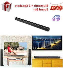 Bluetooth 4.2 Remote Control Sound Bars Speakers 4x10W Sound