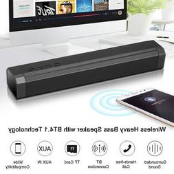 3D Surround 2 Loudspeakers System Wireless Bluetooth Soundba