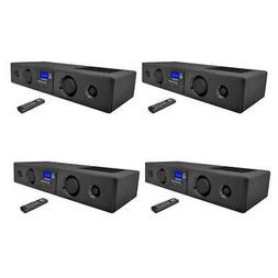 Pyle 300 Watt Bluetooth USB/SD/FM Radio Soundbar System with