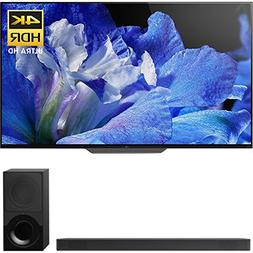 "Sony Bravia XBR65A8F 65"" 4K HDR10 HLG Dolby Vision Trilumino"