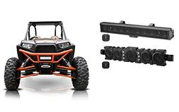 Boss BRRC34+BRRF46 Powered Sound Bars+Bluetooth Controllers+