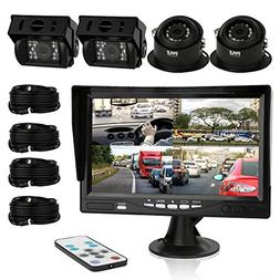 Pyle Car Rear View Camera and Video Monitor, IP68 Waterproof
