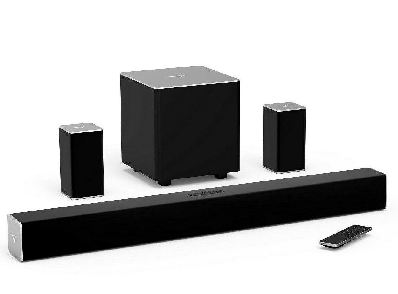 5 1 surround sound bar speaker system