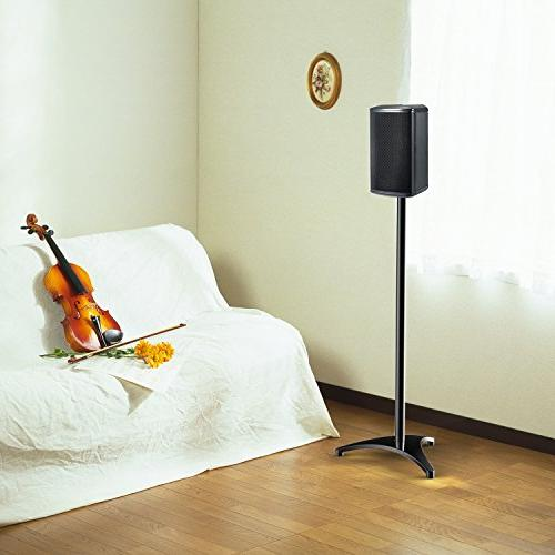 """PERLESMITH Stands-Extends 30"""" to Hold Speakers Weight 8lbs-Heavy Duty for"""