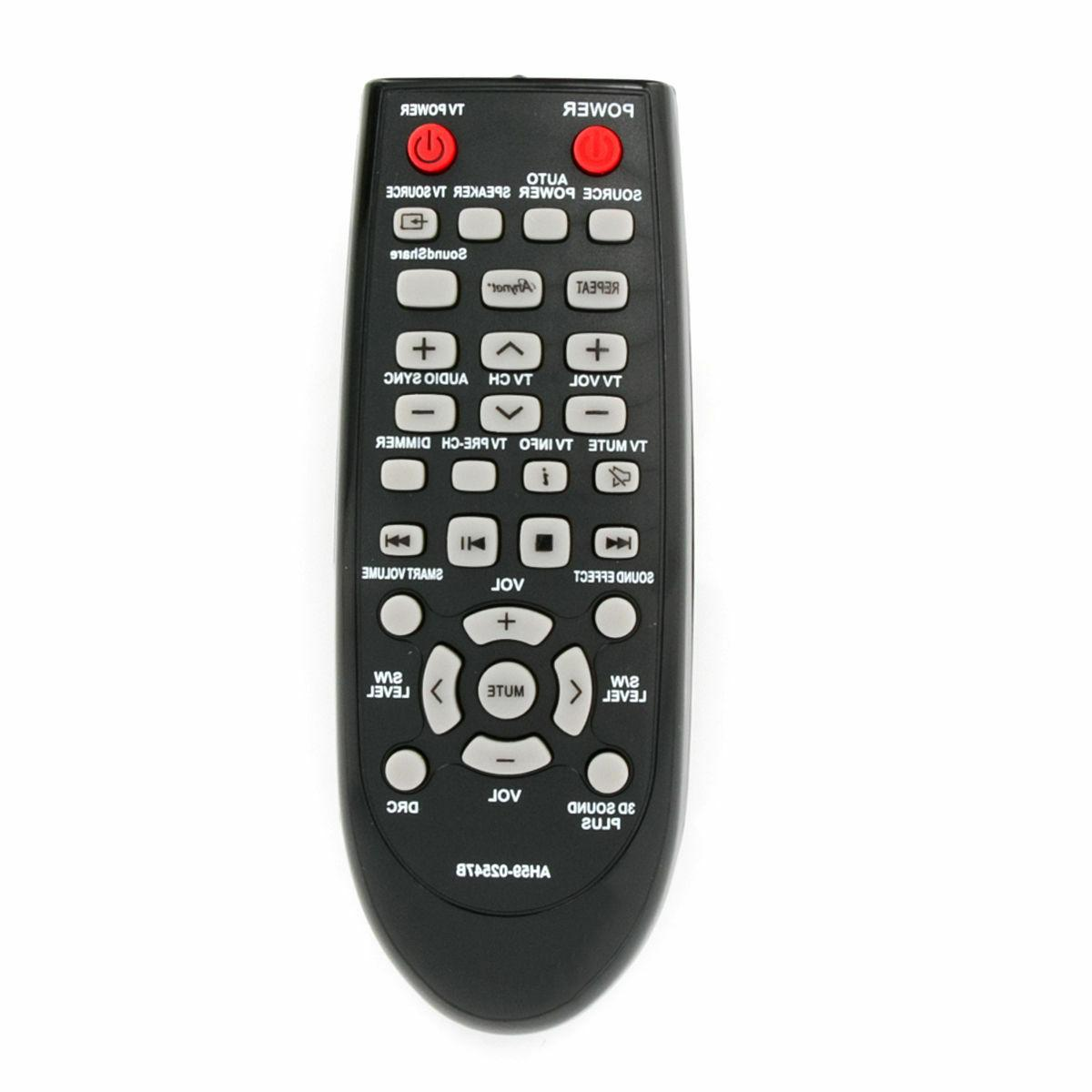 ah59 02547b replaced remote control