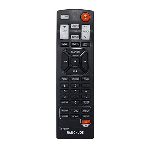 akb73575401 replacement sound bar remote