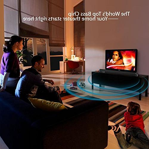 Elecder Sound for TV, Inch Channel Support Bluetooth/Optical/AUX/RCA