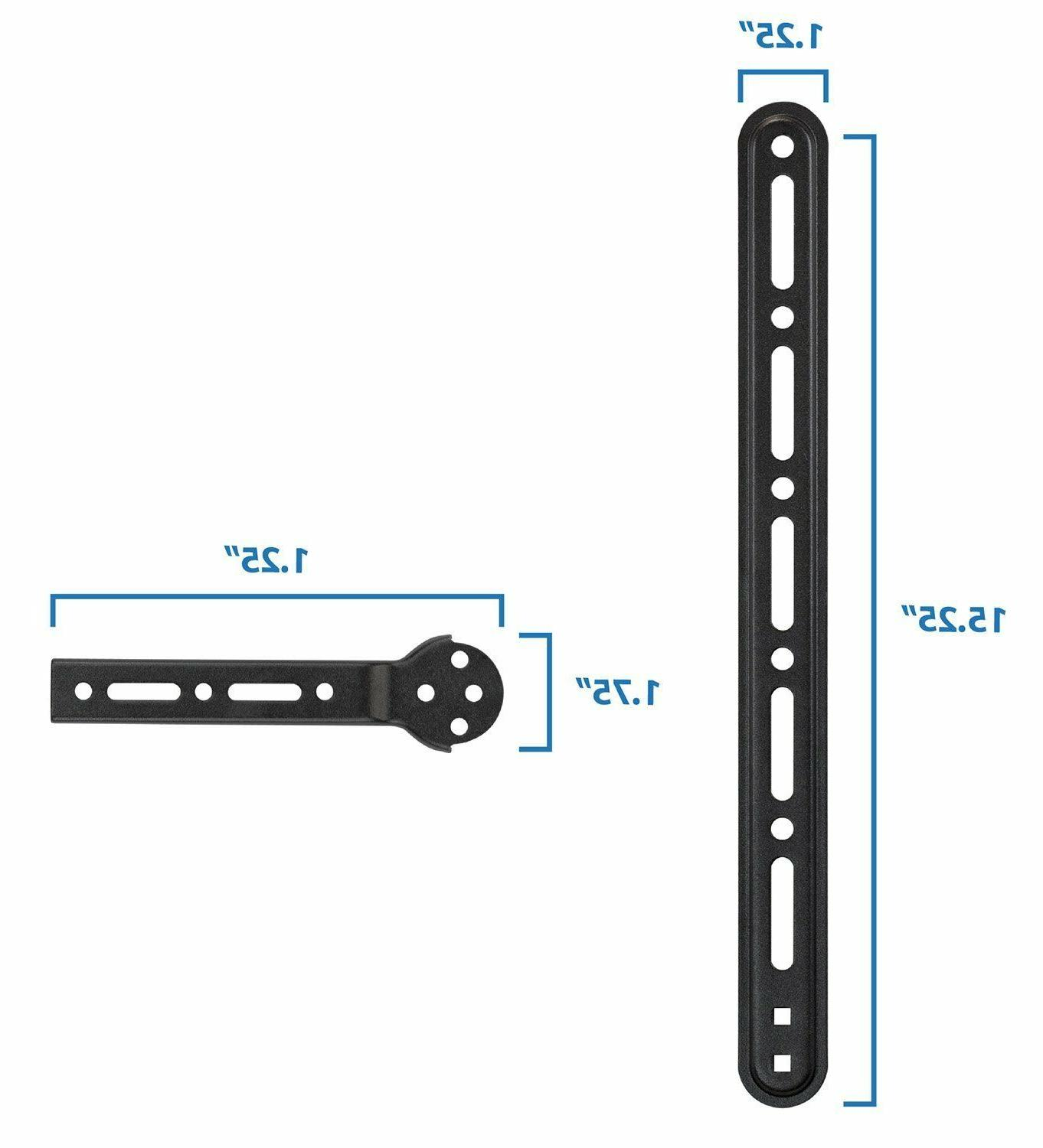 Mount-It! Universal Bracket For or Under - TV