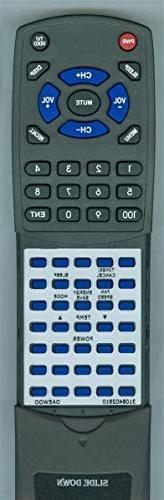Replacement Remote for Daewoo 3108402910