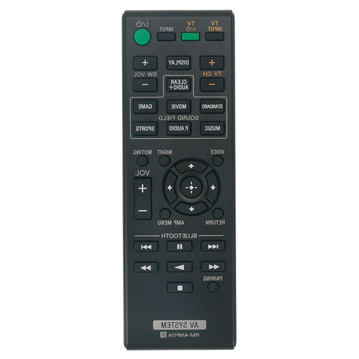 rm anp114 replace remote for sony sound
