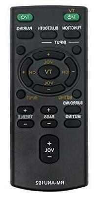 Vinabty New RM-ANU192 REMOTE Replaced For SONY Sound bar Rem