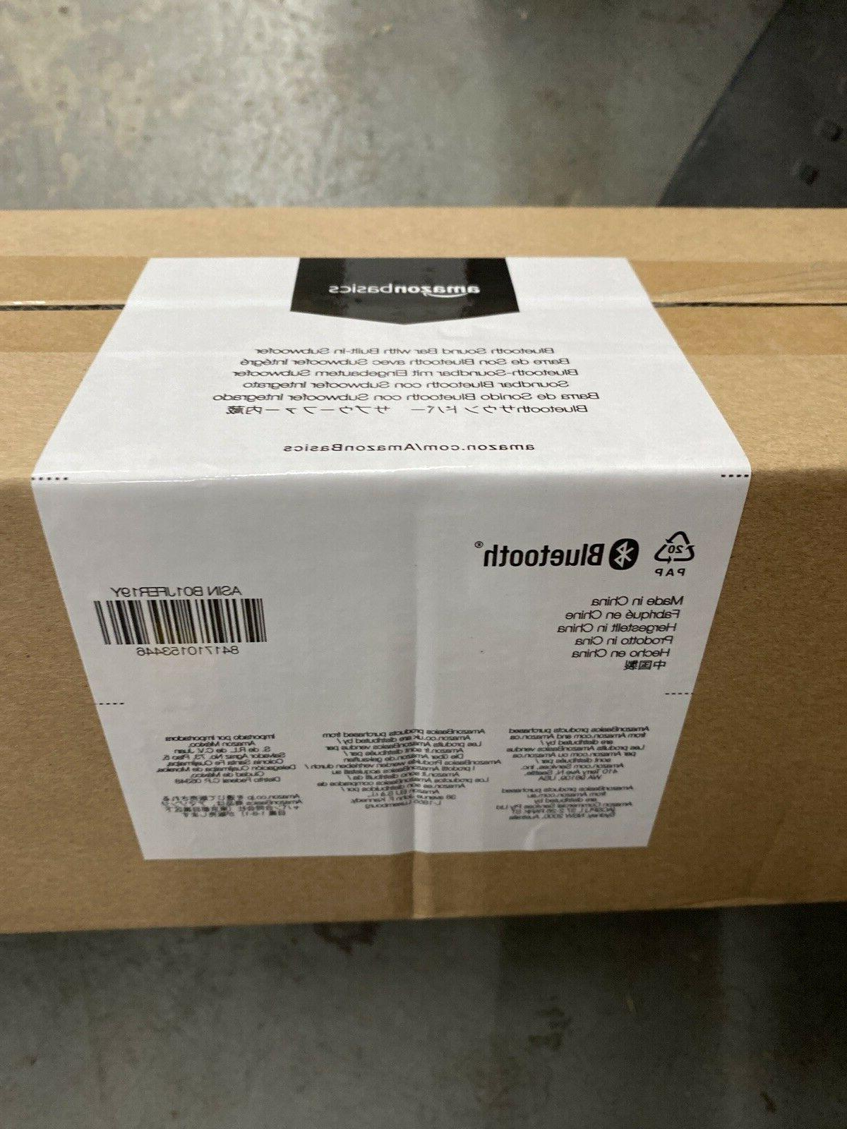 AmazonBasics SB210 2.1 Channel with Built-In