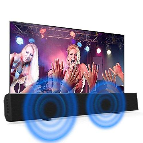 Sound Bars for 30-inch 2.0 Channel Home Wireless Stereo Audio TV Remote Control
