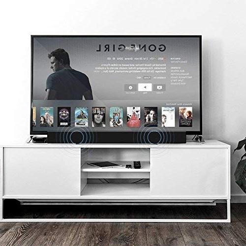 Sound Bar Mighty Sound 30-inch 2.0 Channel Home Theater Speaker and Wireless Surround Audio Remote