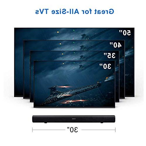 Vinoil for Strong Dual Connection Wired and Wireless Sound Bar, with