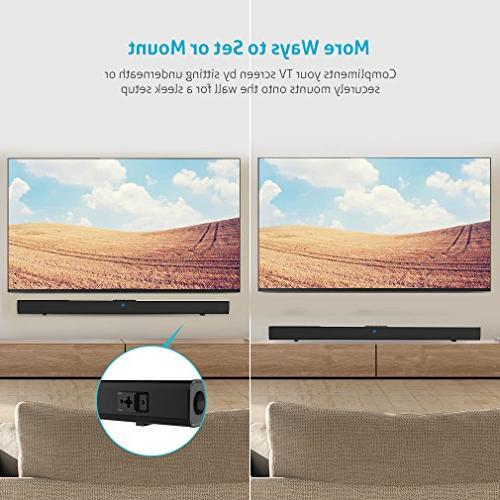 36-Inch Home Sound Bars