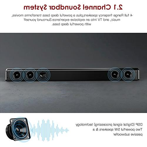 Sound Bar ABOX for 34 Inch Channel Speaker, Wired Bars, Sound, Control, Mountable