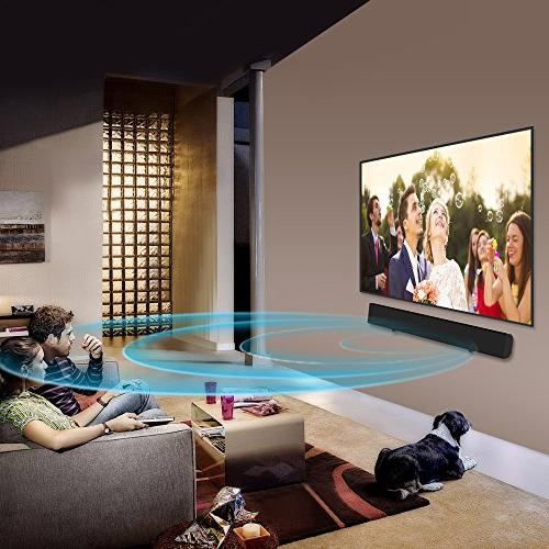 Soundbar, Bar TV Wired and Speakers Optical Control
