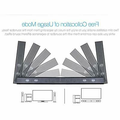 LuguLake Soundbar, Bars With Subwoofer,