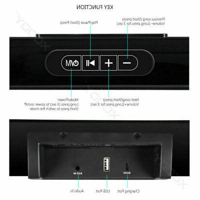 TV Soundbar Bluetooth System 3D Surround