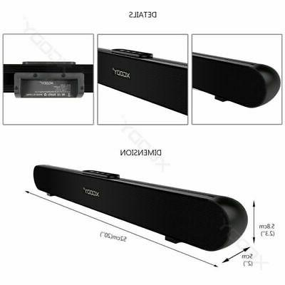 TV Home Soundbar Bluetooth Sound System Surround