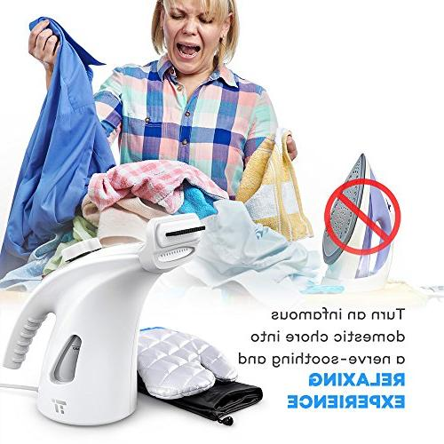 TaoTronics Capacity Steamer for Clothes with Protective Glove -