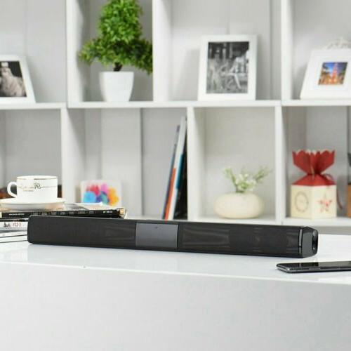 Wireless Bluetooth Soundbar Home Theater w/ RCA Line