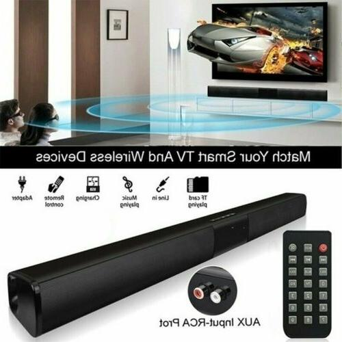 wireless bluetooth soundbar speaker tv home theater