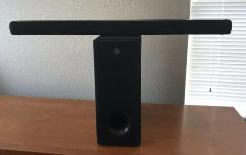 yas 207bl sound bar with wireless subwoofer