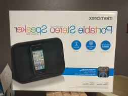 Memorex MA7221 Portable Stereo Speaker System for iPod and i