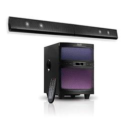 Klip Xtreme Mystik Sound Bar with Subwoofer- 300 Watt Peak-