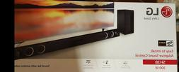 NEW LG SH3B same as LG SH3K 2.1 Channel 300W Sound Bar & Wir