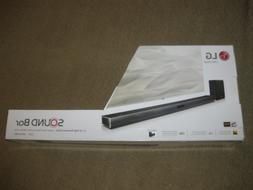 NEW IN BOX LG SJ4Y 2.1 Channel 300W Sound Bar with Wireless