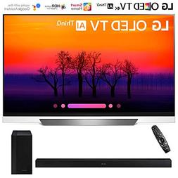 "LG OLED55E8PUA 55"" Class E8 OLED 4K HDR AI Smart TV  with Sa"