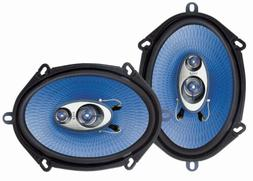 Pyle PL573BL 5x7-Inch 300W 3-Way Speakers