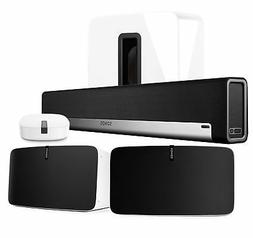 Sonos PlayBar Soundbar SUB Play:5 White Wireless Speakers wi