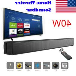 Powerful TV Home Theater Soundbar Bluetooth Sound Bar Speake