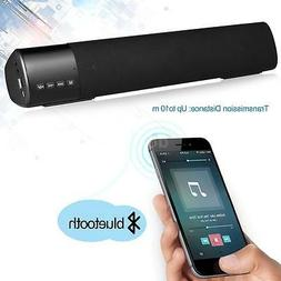 Powerful TV Sound Bar Speaker Bluetooth Home Theater Subwoof