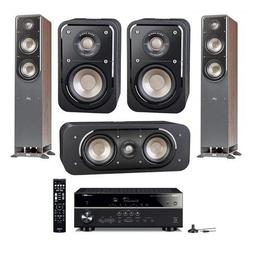 Polk Audio Signature Series 2X S50 Small 2-Way HiFi Home The