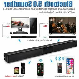 Sound Bar for TV Clear Sound HD TV Streaming Dual Built-In S