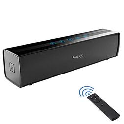 Soundbar, 30W Wired and Wireless Connection TV Sound Bar Blu