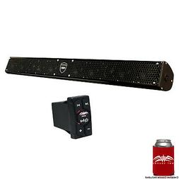 Wet Sounds Stealth 10 Surge Amplified Powersport Soundbar wi