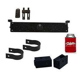 Wet Sounds Stealth 6 Ultra HD Black + UTV Mounting Kit, Slid