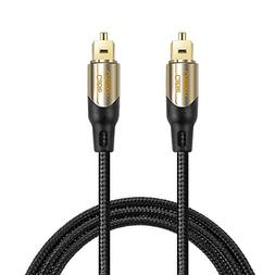 CableCreation 10 Feet Toslink Male to Toslink Male Digital O