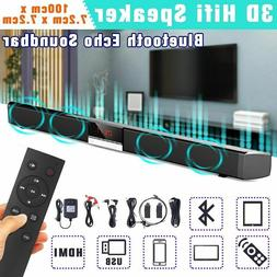 Tv Bluetooth Speaker Home Theater 3d Stereo Sound Bar Suppor