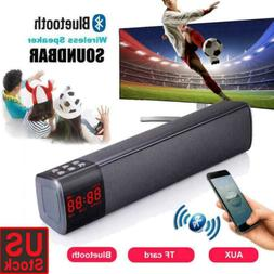 TV Sound Bar Home Theater Subwoofer Soundbar with Bluetooth
