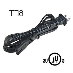 AT LCC 6ft UL Listed AC Power Cord Cable for JBL BAR 3.1 Cha